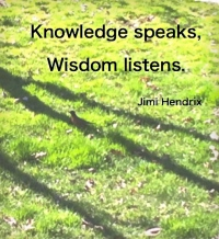 Knowledge Speaks quote