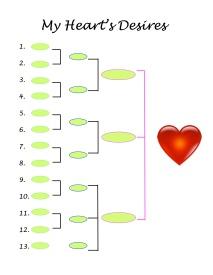 Heart's Desire - list - 4